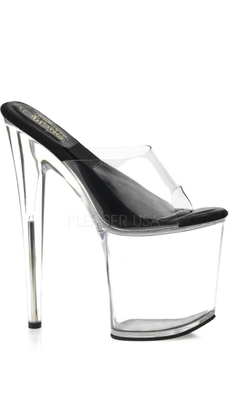 8 Inch  Incho Inch Shaped Heel  Inchsol Inch Platform Slide