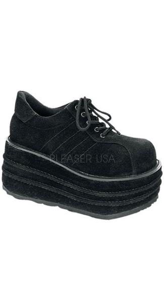 3 1 2 inch platform vegan black faux suede shoes