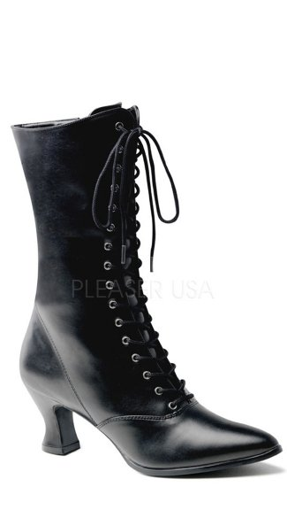 Women S Victorian Boots Pioneer Boot Mid Calf Boot