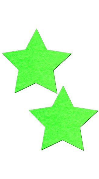 Glow in the Dark Star Pasties, Glow in the Dark Pasties, Light Up Star Pasties