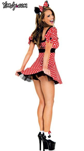 Plus Size Adult Mouse Costume