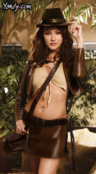 Plus Size Sexy Archaeologist Costume, Indiana Jones Sexy Costume, Plus Size Sexy Indiana Archaeologist Costume