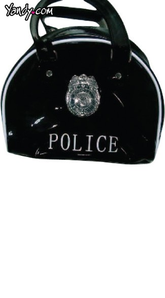 Police Bag with Badge, Police Costume Bag