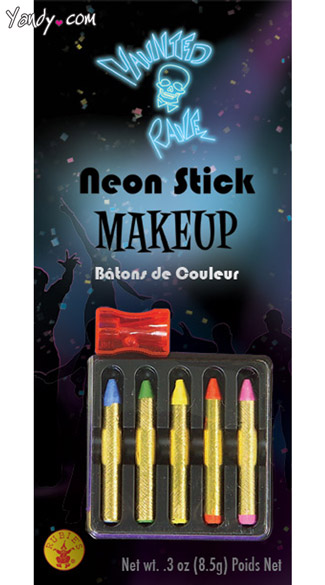 Neon Stick Makeup, Neon Make Up, Neon Colored Make Up, Makeup Kits