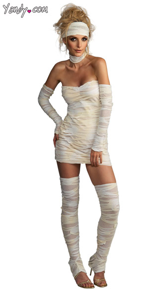 Sexy Mummy Costume, Mummy Dress Costume