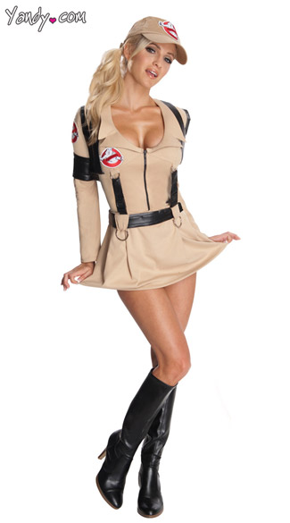 Sexy Ghostbuster Costume, Womens Ghostbuster Costume, Adult Ghostbuster Halloween Costume