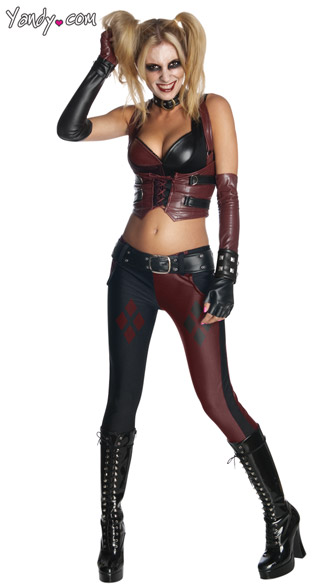 Sexy Harley Quinn Costume, Super Hero Costumes, Comic Book Costumes