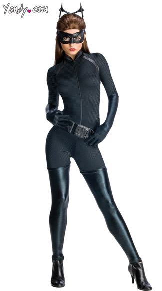 Sexy Catwoman Costume, Catwoman Halloween Costume, Catwoman Sexy Costume, Anne Hathaway Catwoman Costume
