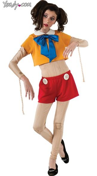 Sexy Cartoon Puppet Costume, Sexy Puppet Costume