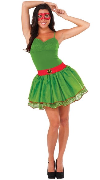 Raphael Tutu Skirt, TMNT Skirt, Teenage Mutant Ninja Turtle Skirt