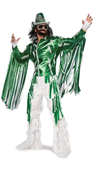 Deluxe Randy Savage Costume, Randy Savage Wrestler Costume, Randy Savage Halloween Costume