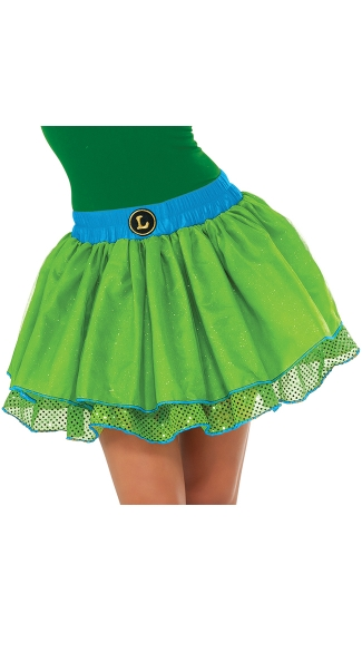 Teenage Mutant Ninja Turtles Leonardo Tutu Costume, Teenage Mutant Ninja Turtle Costume, Ninja Turtle Skirt