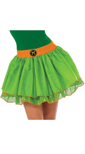 Teenage Mutant Ninja Turtles Michelangelo Skirt Costume