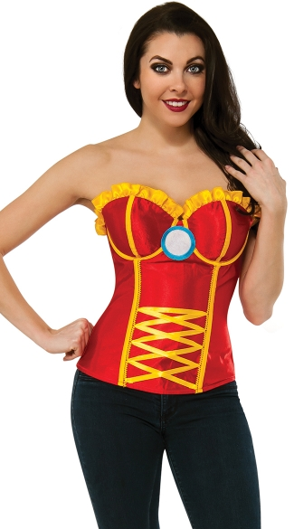 Satin Iron Woman Corset