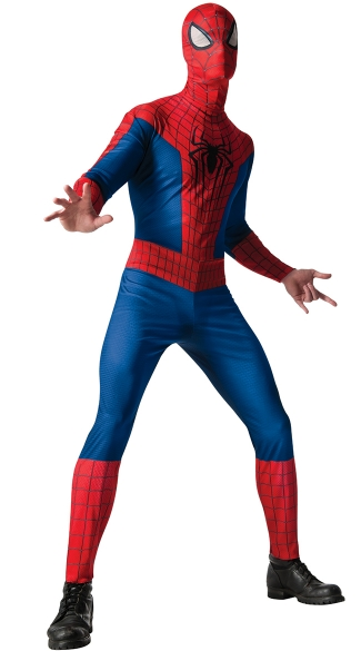 Men\'s The Amazing Spiderman Bodysuit Costume