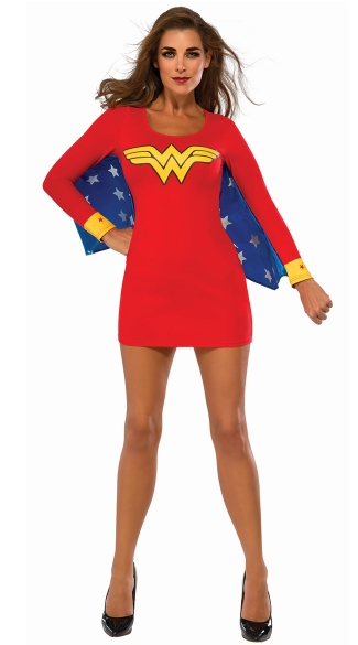 Wonder Woman Dress with Wings