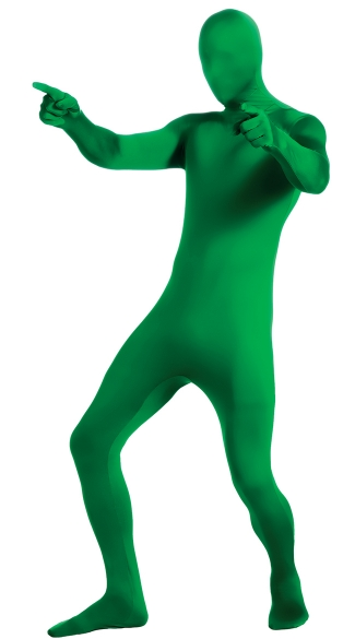 Men\'s Green Morphsuit Costume