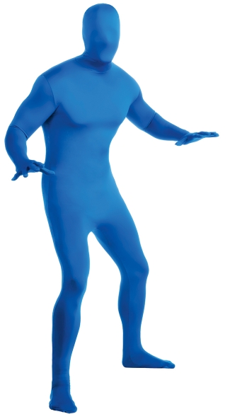 Men\'s Blue Morphsuit Costume