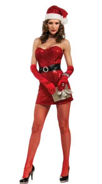Miss 5th Avenue Sexy Santa Costume