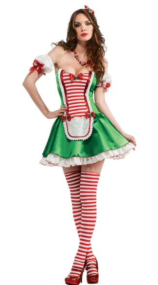 Peppermint Cutie Costume
