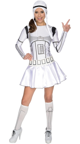 Stormtrooper Dress Costume, Stormtrooper Costume, Stormtrooper Halloween Costume