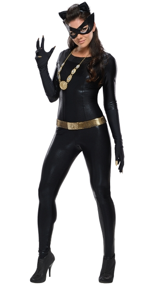 Deluxe Catwoman Costume, Grand Heritage Catwoman Costume, Sexy Catwomen Halloween Costume