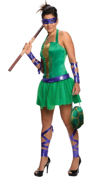 TMNT Female Donatello Costume