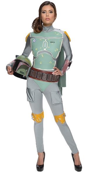Sexy Boba Fett Costume, Female Star Wars Halloween Costumes, Sexy Star Wars Movie Costumes
