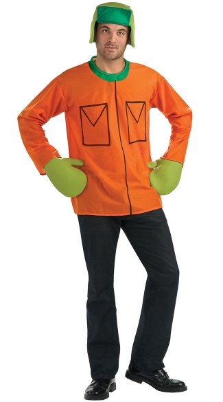 South Park Kyle Costume, South Park Foam Main Character Costume, Foam Kyle Broflovski Costume