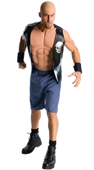 Stone Cold Costume, WWE Superstar Wrestler Costume, Stone Cold Wrestler Costume