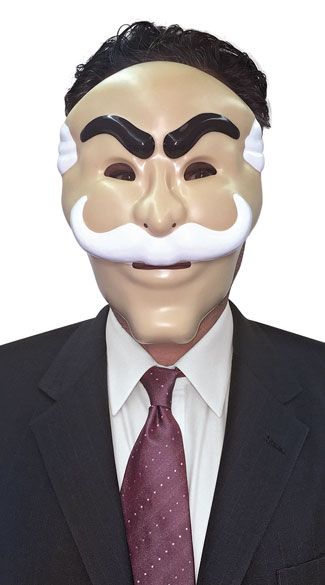 Mr. Robot Mask, Man Mask, Face Mask