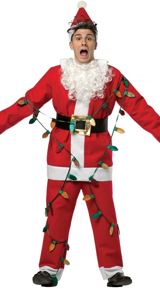 National Lampoons Light Up Santa Suit