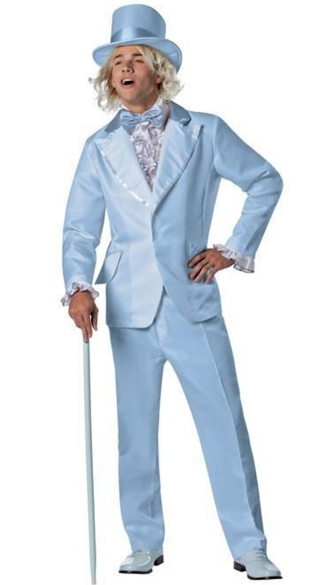 Officially Licensed Dumb And Dumber Harry Tuxedo, Dumb and Dumber Halloween Costume, When Harry Met Lloyd Costume