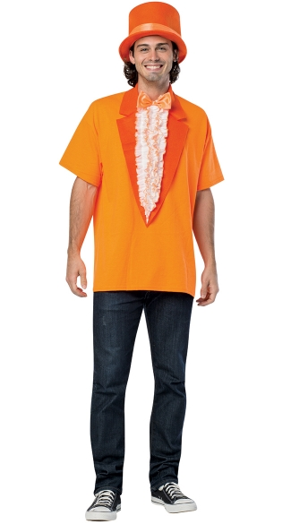 Dumb and Dumber Lloyd T-Shirt Costume, Dum and Dummer Costume, Lloyed Dumb and Dumber Halloween Costume