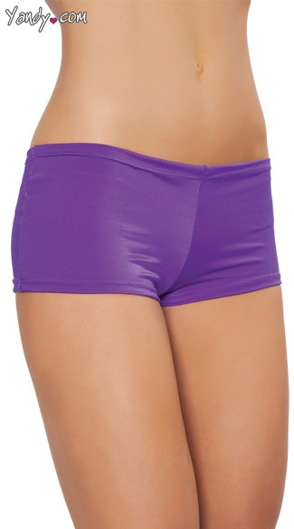 Stretch Spandex Shorts, Hot Pants, Booty Shorts