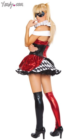 Sexy Circus Clown Costume