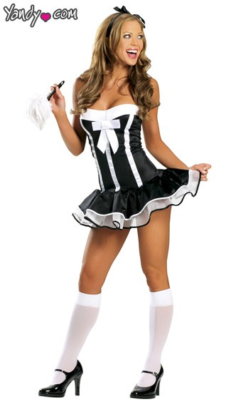Super Sexy Maid Costume, Super Sexy French Maid Costume, Super Sexy Maid Halloween Costume