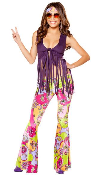 Hippie Lover Costume Sexy Hippie Costume Sexy 60s Costume