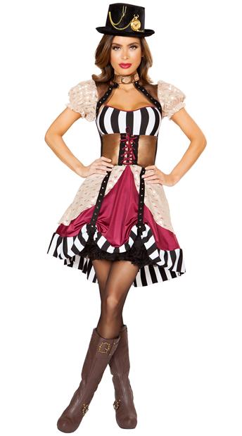 Sassy Steampunk Costume, Steampunk Dress Costume - Yandy.com
