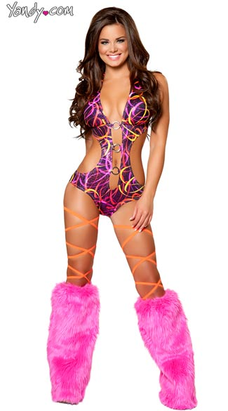 Pink Swirl One Piece