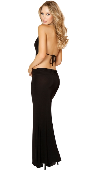 High Slit Maxi With Sexy Cutouts