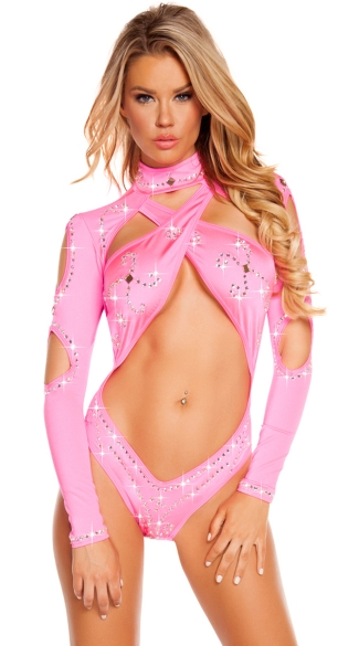 Ravishing in Rhinestones One Piece