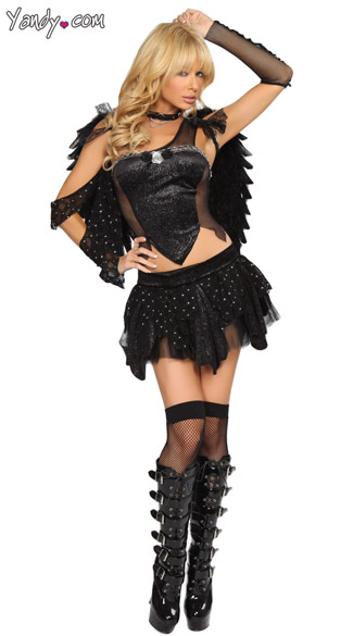 Exclusive Dark Angel Costume