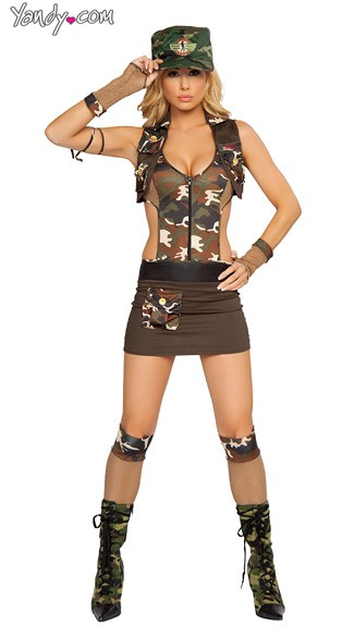 Major Hottie Costume