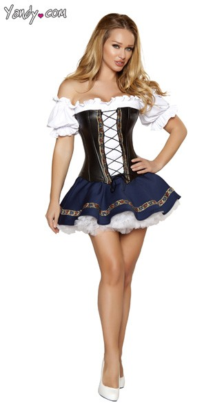Sexy Beer Maiden Costume, German Beer Maiden, German Beer Girl