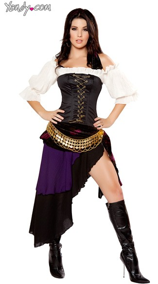Deluxe Gypsy Mistress Costume