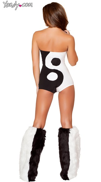 Sexy Yin and Yang Costume