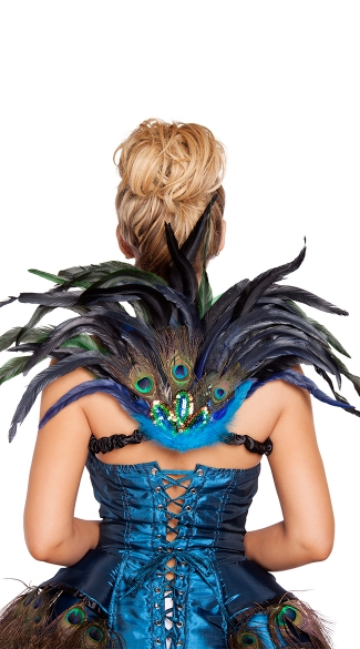Mini Peacock Tail Feather, Peacock Wings, Costume Wings
