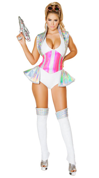 space alien buster costume sexy astronaut costume sexy. Black Bedroom Furniture Sets. Home Design Ideas