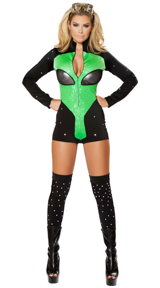 Out Of This World Hottie Costume, Sexy Alien Costume, Sexy ...